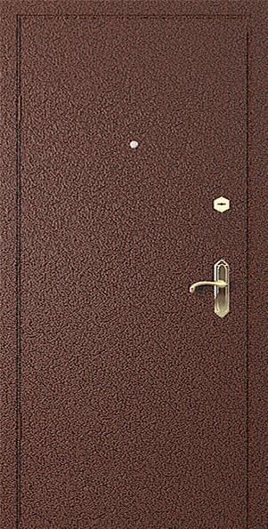 стальные двери с порошковым покрытием антик