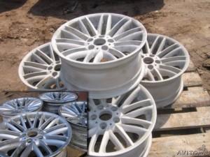 Очистка автомобильных дисков пескоструйкой